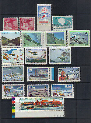 Chile Unmounted mint collection - Antarctic theme