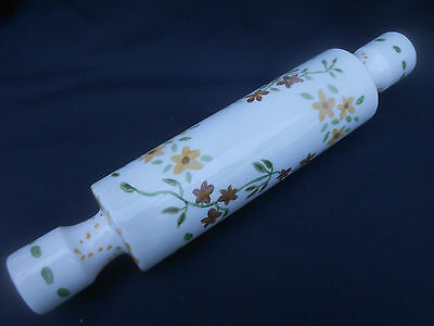 Old Vintage Kitchen ** HAND PAINTED ** Rolling Pin