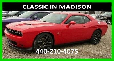 2016 Dodge Challenger R/T SCAT PACK 16 R/T SCAT PACK NAVIGATION SUNROOF HEATED LEATHER
