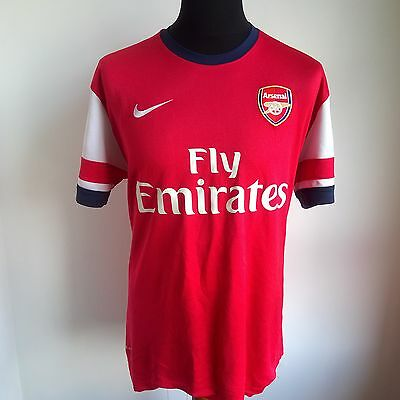 Arsenal 2012 Home Football Shirt Gunners Nike Jersey Size Adult L