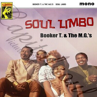 60S Mod Instrumental Soul Stax Booker T & The Mg's Soul Limbo Picture Sleeve