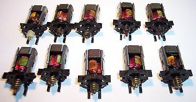 Triang Hornby Minic Motorways Spares Plastic Chassis Motors