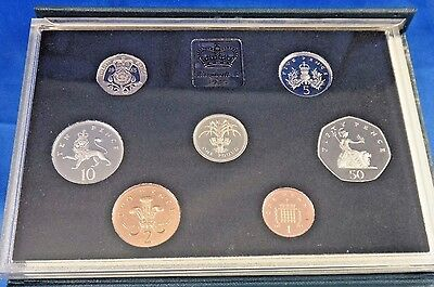 1985 United Kingdom Proof Coin Set Collection Royal Mint COA