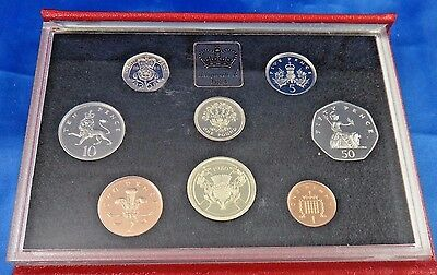 1986 United Kingdom Proof Coin Set Collection Royal Mint COA