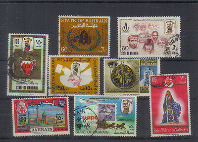 Bahrain 1968-75 Valuable used collection