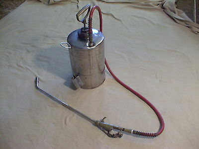 Vintage B & G Co. stainless steel tank sprayer parts