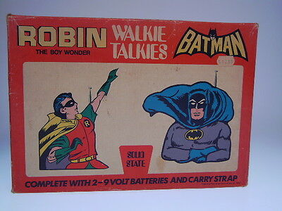 "GSCOM ""BATMAN+ROBIN WALKIE TALKIES"" PERIODICAL PUBL.1973, 20x28cm ,VERY GOOD"