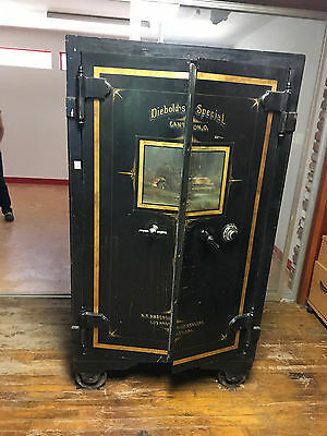 Antique Diebold's Special Double-Door Safe w/ Pass Code