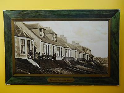 Bayview Cottages METHIL Nr Leven Fife 1909 ex SS Excellent Gotzlow to Sunderland