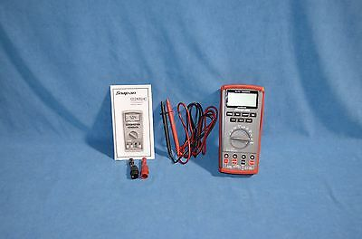 Snap On Tools EEDM504D Digital Multimeter Auto Ranging CAT II & III MINT