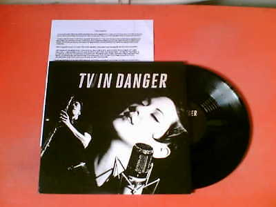 "TWIN DANGER Self-Titled 4 Track 10"" Vinyl EP + Press Sheet! New! Vanessa Bley"