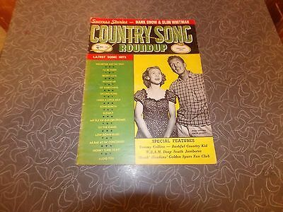 June 1954 Country Song Roundup Magazine