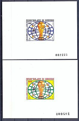 Cameroon 1982 ltaly's Victory in 1982 World Cup Deluxe Proofs. VF and Rare