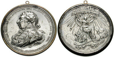 GB. George III. 1760-1820.  White Metal (overall, 52mm, 67.17 g). 50th year.
