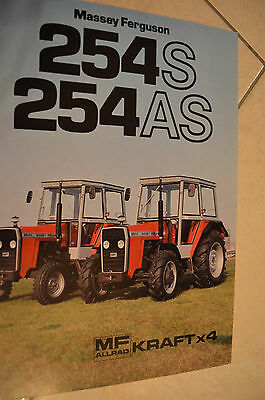Massey Ferguson MF 254 S / 254 AS Prospekt