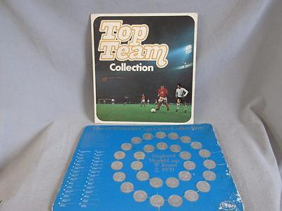 1970s Esso Top Team Collection & 1970 World Cup Coin Collection - Both Complete