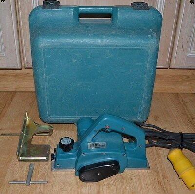 """MAKITA 1923H CORDED 110V 850W 3""""/82mm HEAVY DUTY PLANER WITH CARRY CASE"""