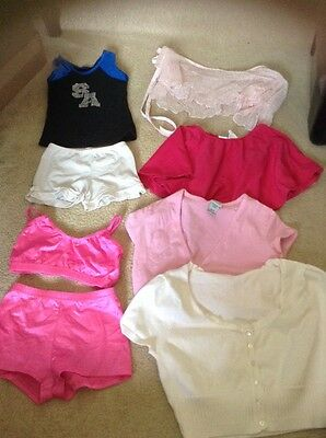 dance lot tap jazz ballet size 8-10-12-14 skirts bottoms tops 8 pieces