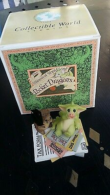 Real Musgrave Pocket Dragon  I Owe How Much ??? 2003  Boxed Look