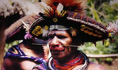 Very Old FORE-HEAD adornment - Papua New Guinea.