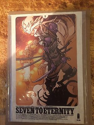 SEVEN TO ETERNITY #2 ERIC CANETE VARIANT COVER RICK REMENDER NM/nm+ 1ST PRINTING