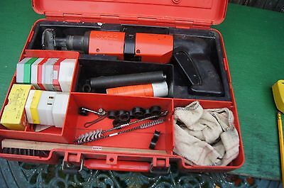 Hilti Dx400B Nail Gun In Case With Cartridges Etc