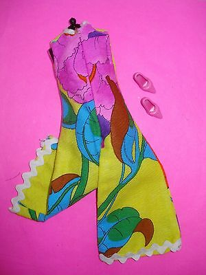 Vtg Barbie 70s HANDMADE Doll Clothes lot CARIBBEAN JUMPSUIT Set
