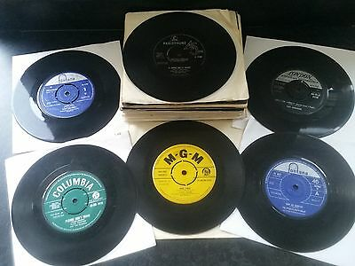 "JOB LOT OF 7"" SINGLES OF 1960s (50) WITH POPULAR ARTISTS FROM THE ERA INCLUDED"