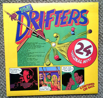 The Drifters - 24 Original Hits Lp - Double Album - Northern Soul - Ex Cond Rare