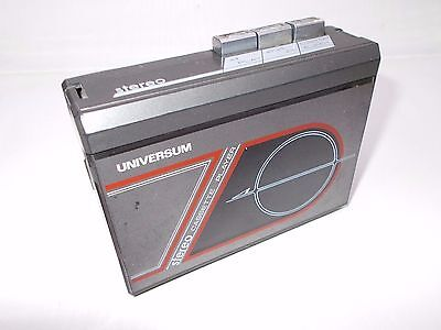 Vintage walkman personal cassette player UNIVERSUM AS PARTS