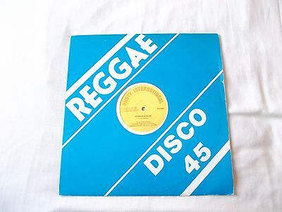 "Tristan Palmer "" Woman Woman "" Reggae 12"" Single Rusty International Label"