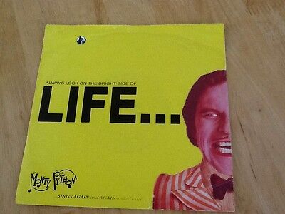"7""  VINYL SINGLE   Monty Python ‎– Always Look On The Bright Side Of Life.1991"