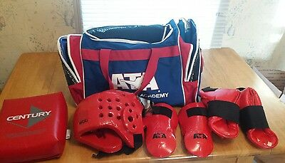 ATA Black Belt Academy Sparring Gear and Bag