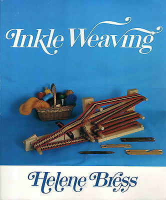 Softcover Book: Inkle Weaving by Helene Bress (1990 Softcover Book)