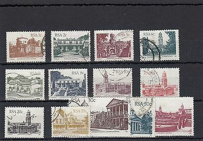 South Africa. 13 --1982 Used  Stamps On Stockcard