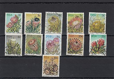 South Africa. 11 --1977 Used  Stamps On Stockcard