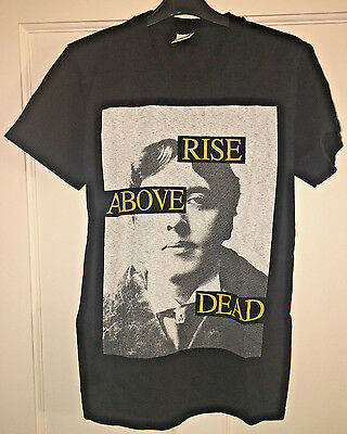 'Rise Above Dead' Small T-Shirt (Italian Sludge Post Metal Hardcore Oscar Wilde)