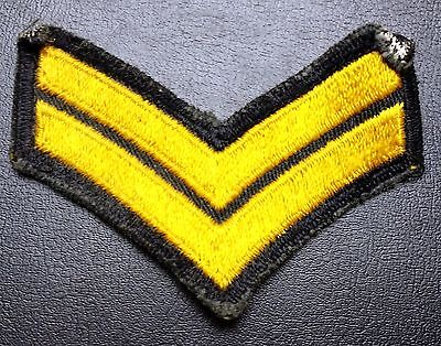 Vintage Corporale Style Military Patch - Free Combined Shipping