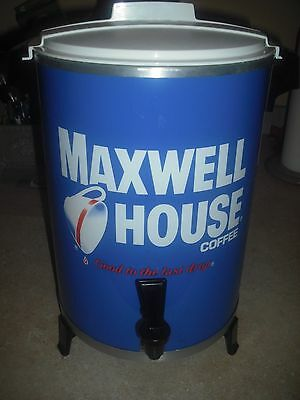 Vtg Maxwell House 30 Cup Coffee Pot Maker Percolator WestBend 1970's