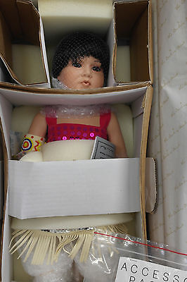 Danbury Mint Little Rain Dancer Porcelain Doll Native American REDUCED!