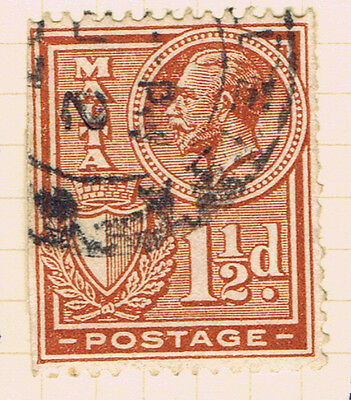 Malta #134(1) 1926 1.5 pence orange brown King George V Used