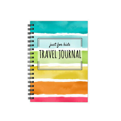 """One Love Paper Co. Kids Travel Softbound Journal 1-Month Diary Workbook 5.5x8.5"""""""