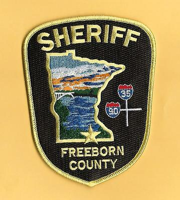 Minnesota-Nice New -Freeborn County Sheriff's Department-Colorful- Roadsigns