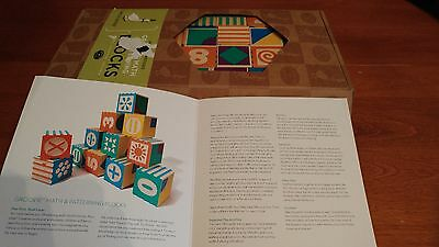 NEW  Uncle Goose Groovie Math and Patterning Blocks - Made in USA      TOTE 6