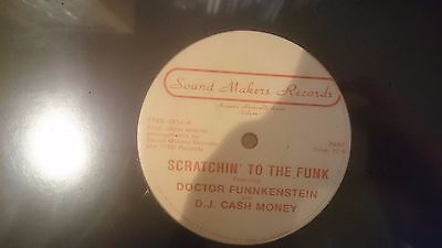 Doctor Funnkenstein and D.J. Cash Money* ‎– Scratchin' To The Funk repress