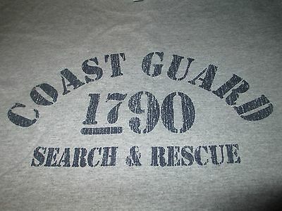 US Coast Guard 1790 SEARCH & RESCUE T Shirt Large