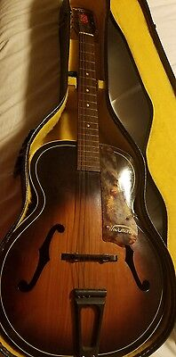 Vintage HARMONY Acoustic Guitar Archtop H1215