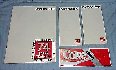 Vintage Coca-Cola Advertising Lot #4 Coke