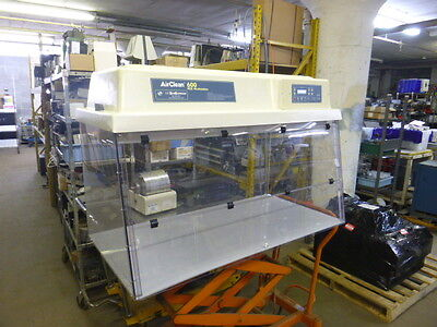 AirClean Systems 600 Workstation Fume Hood Model AC648 LFUVC