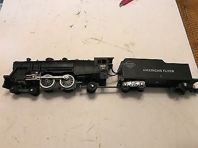 Vintage American Flyer Trains Reading Lines Locomotive Tender #300 Ac Untested